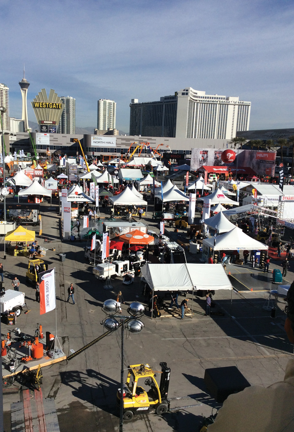 World of Concrete 2015