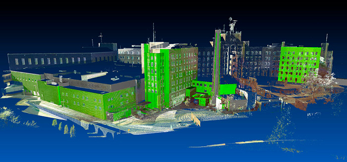 the software used to process and manage the point cloud
