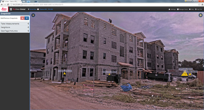 The software you use to manage your point clouds