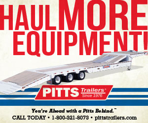 PITTS Trailers - Haul More Equipment    1-800-321-8073 | pittstrailers.com