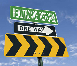 Health Care Reform Sign