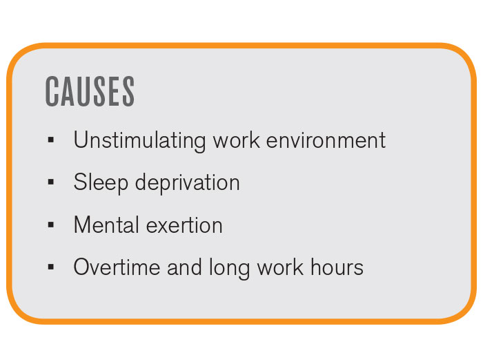 Worker Fatigue Causes