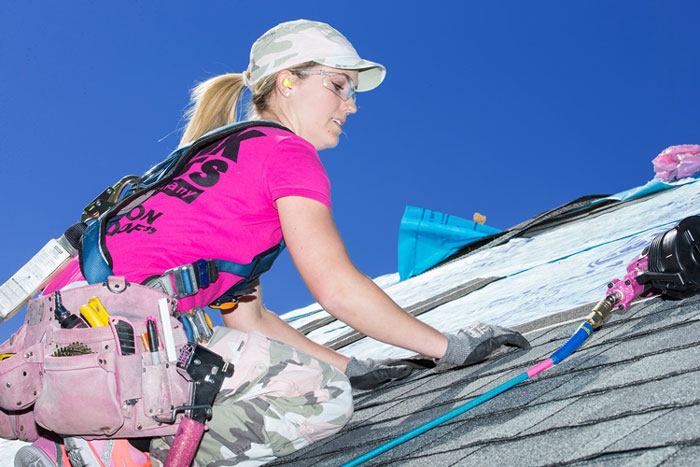Image result for female roofers