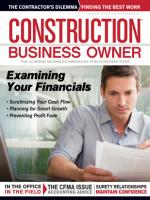 Construction Business Owner, May 2013