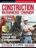 Construction Business Owner, October 2012