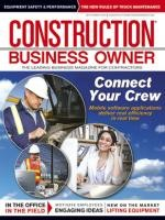 Construction Business Owner, September 2012
