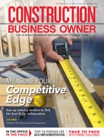 Construction Business Owner, October 2014