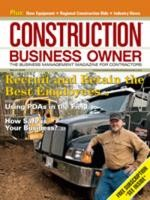 Construction Business Owner, March 2009