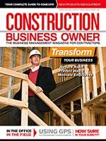 Construction Business Owner, March 2011