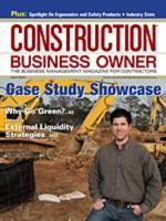 Construction Business Owner, April 2009