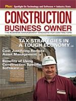 Construction Business Owner, May 2009