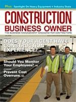 Construction Business Owner, July 2009