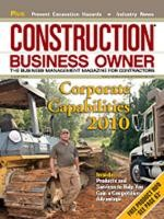 Construction Business Owner, August 2010