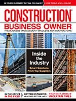 Construction Business Owner, August 2011