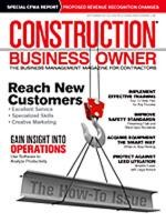Construction Business Owner, September 2011