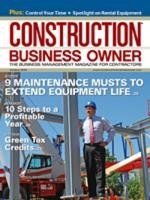 Construction Business Owner, October 2009