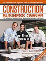 Construction Business Owner, October 2010