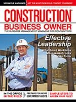 Construction Business Owner, October 2011
