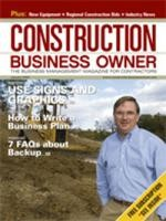 Construction Business Owner, January 2007