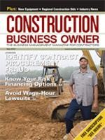 Construction Business Owner, May 2007