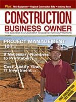 Construction Business Owner, July 2007