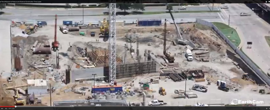 TIme-Lapse of Perot Museum of Nature & Science Construction