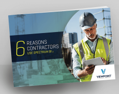 Viewpoint 6 Reasons Contractors Use Spectrum BI White Paper