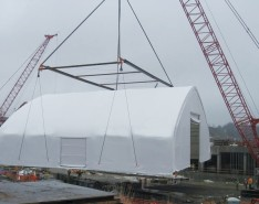How to Utilize Fabric Buildings to Maintain a Safer Jobsite