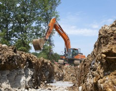 Excavators can be customized to fit business needs